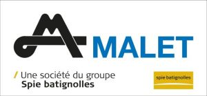 Bloc logo Malet taille vignette