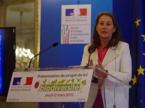 Ségolène Royal précise les contours de l'Agence française de labiodiversité
